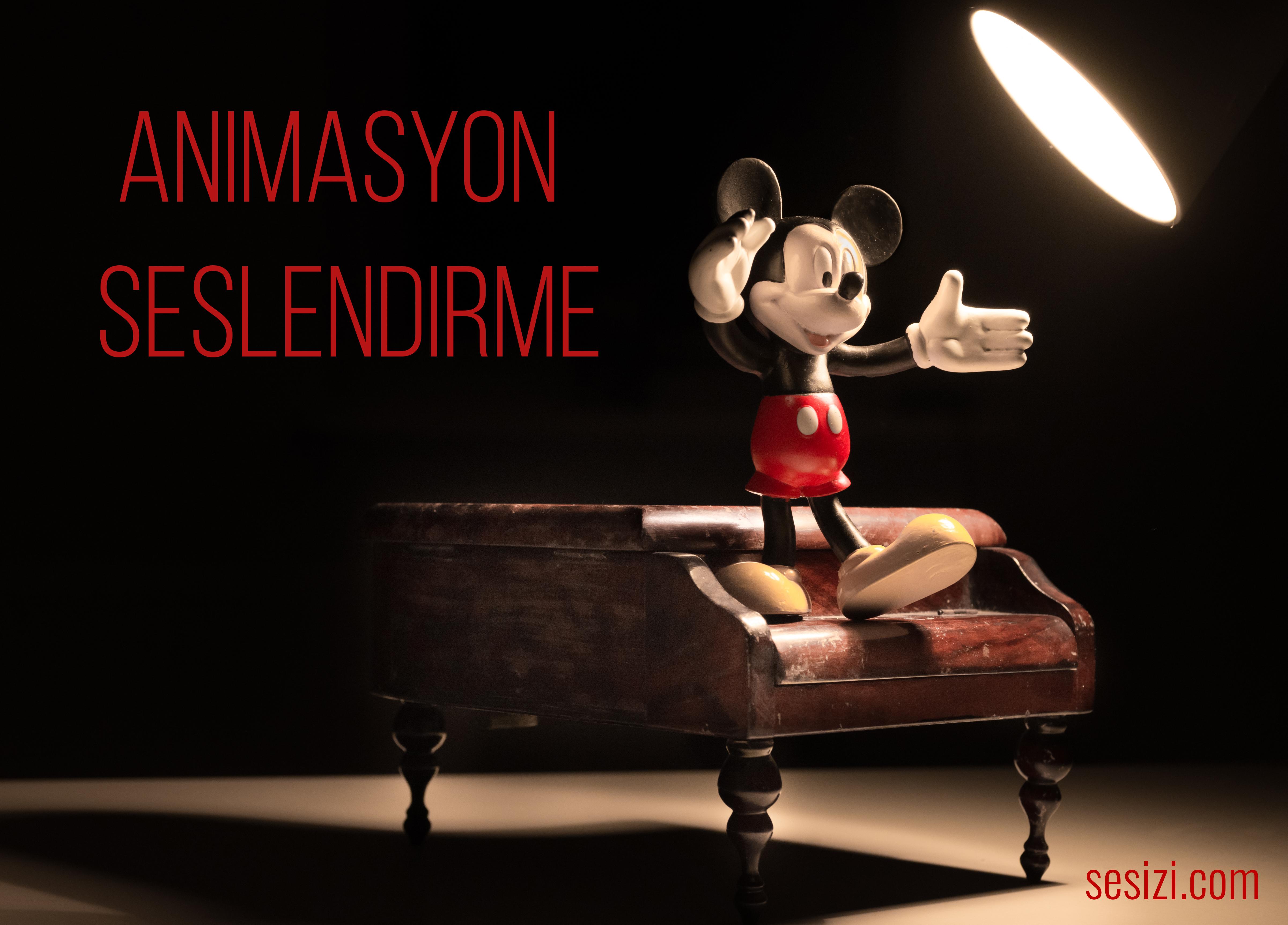 animasyon seslendirme